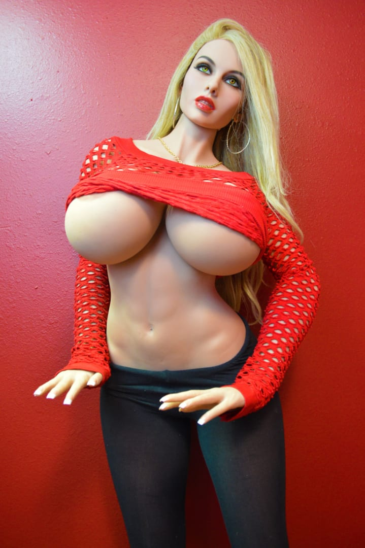 5.58ft TPE Ultra Realistic Men Sex Doll With Big Breast and Sexy Butt Adult Love Toy Male In-Built Metal Skeleton Masturbation