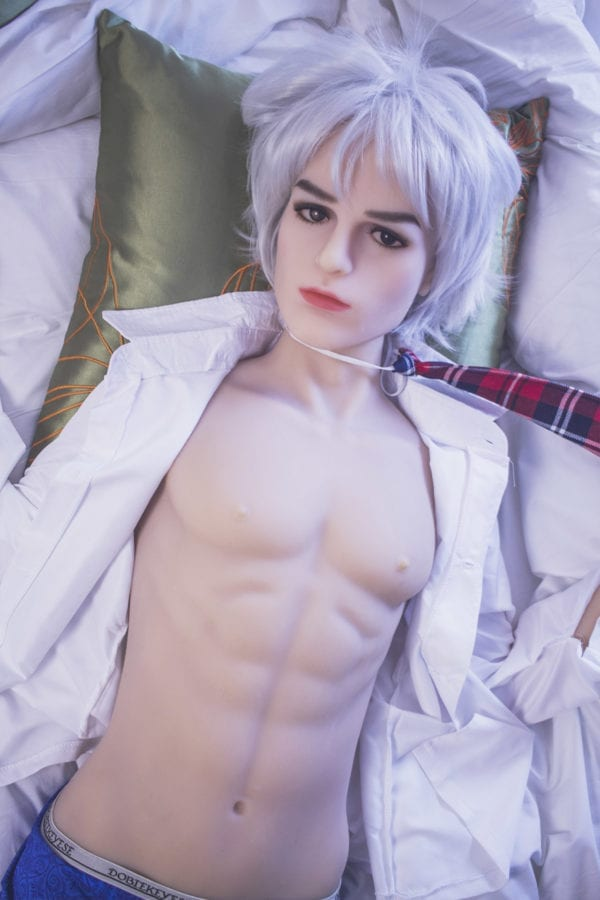 5.25ft TPE Ultra Realistic Male Sex Doll Lifelike Women Love Toy Adult Masturbation