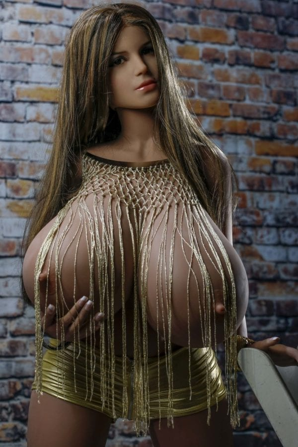 5.02ft TPE Ultra Realistic Huge O-Cup Breast and Fat Butt Sexy Girl Lifelike Men Sex Doll Adult Male Love Toy Masturbation