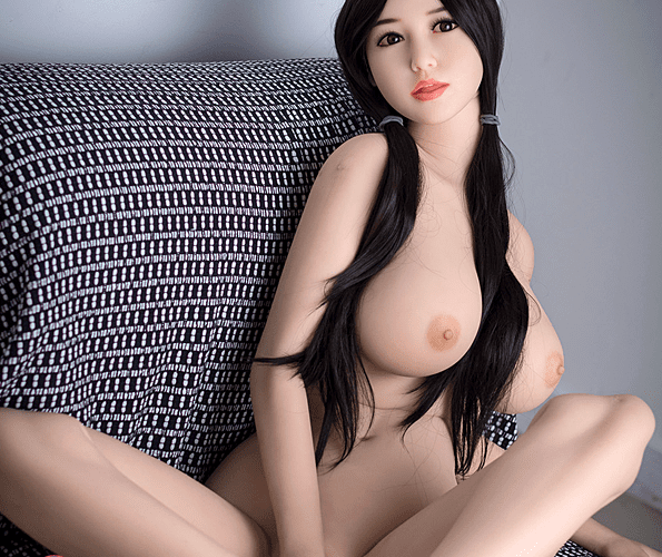 4.6ft TPE Ultra Realistic Sexy Girl With Tongue Men Sex Doll Adult Male Love Toy Masturbation