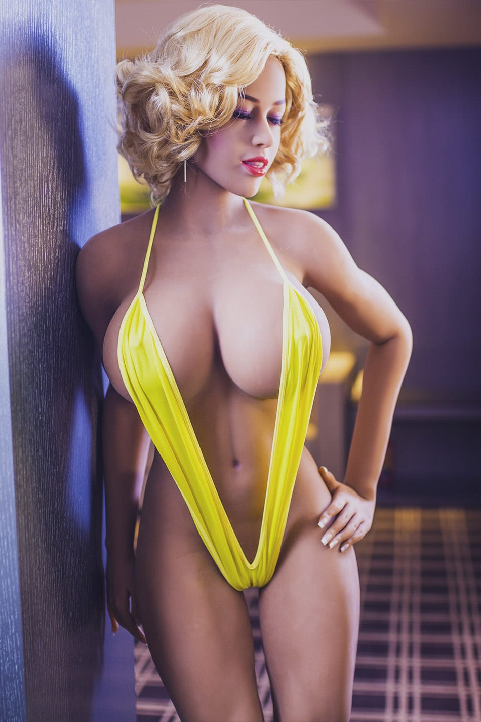 5.45ft TPE Ultra Realistic Men Sex Doll Excise Muscular Girl Male Love Toy Adult Masturbation