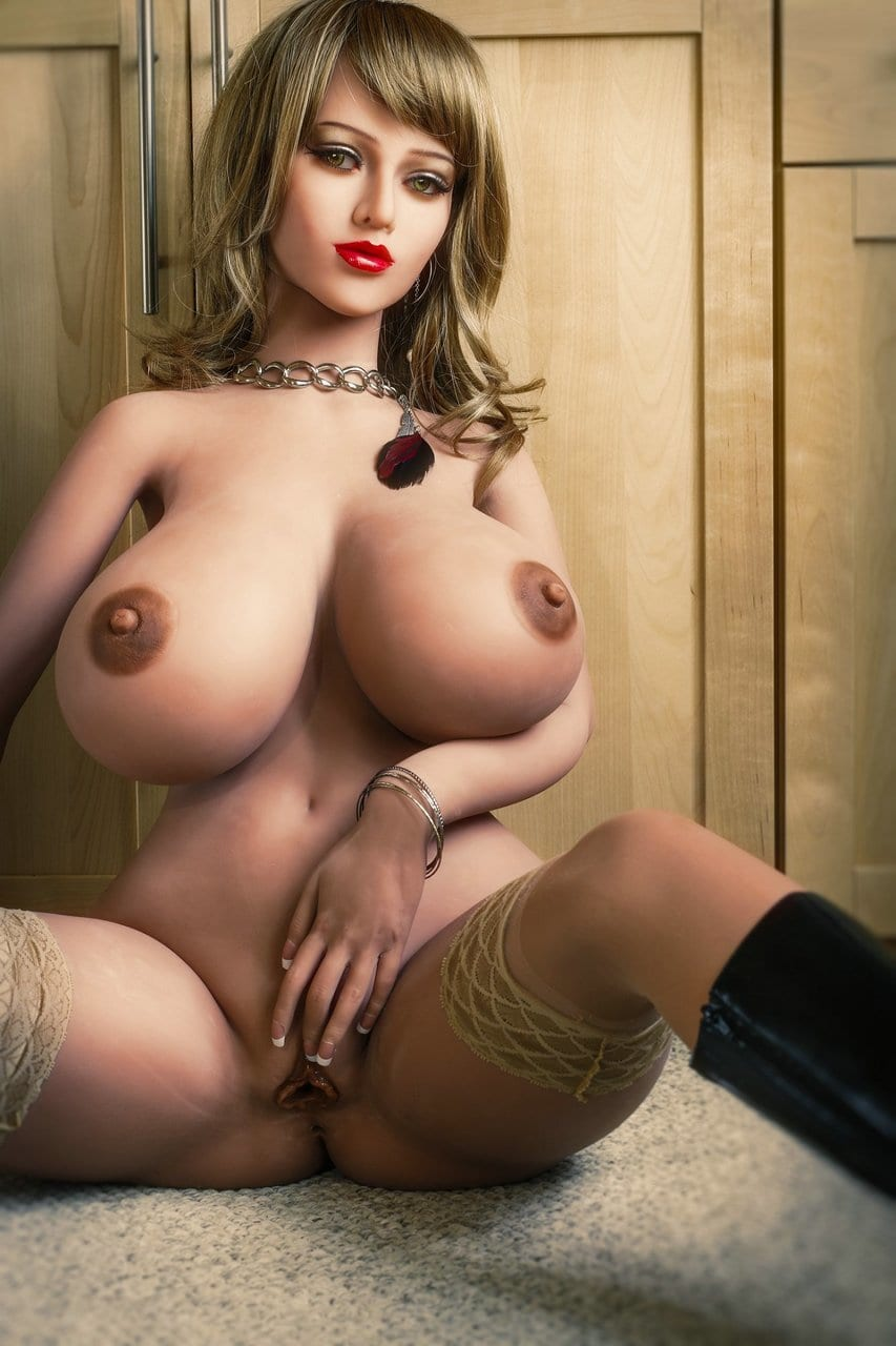 5.31ft Ultra Realistic Big Breast & Fat Butt Sexy Girl TPE Men Sex Doll Lifelike Adult Male Love Toy Masturbation