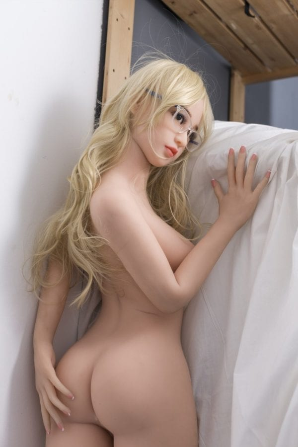 4.86ft TPE Ultra Realistic B-Cup Sexy Girl Men Sex Doll Lifelike Male Love Toy Adult Masturbation
