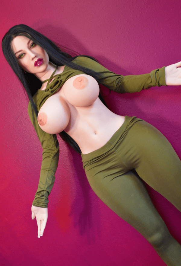5ft TPE Ultra Realistic Big Breast and Fat Butt Sexy Girl Lifelike Men Sex Doll Adult Male Love Toy Masturbation